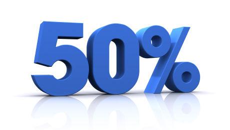 50-percent