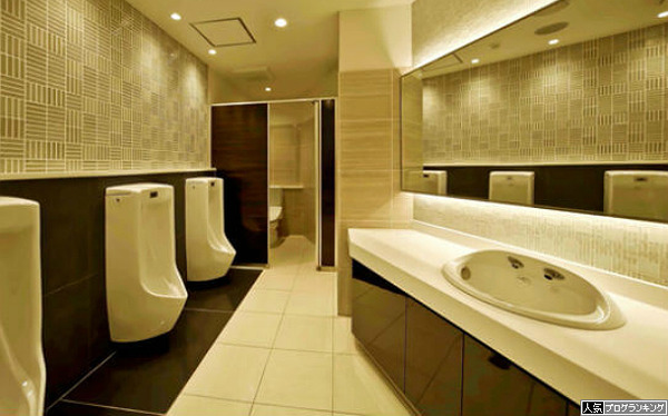 なぜパチンコ屋のトイレは綺麗なのか