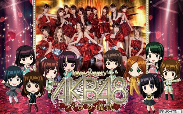 CRぱちんこAKB48バラの儀式 ぱちログ QRコード エラー
