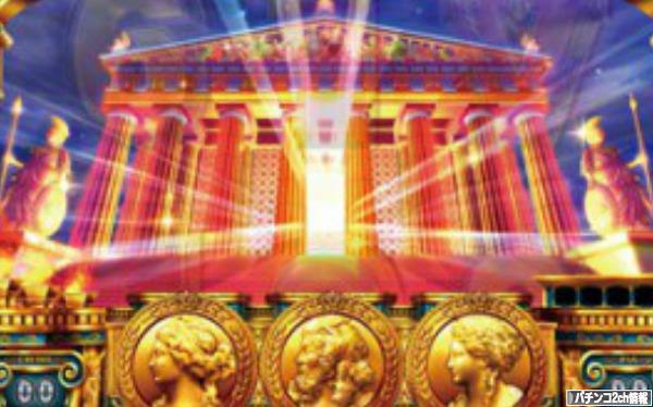 ミリオンゴッド神々の凱旋 パルテノン神殿