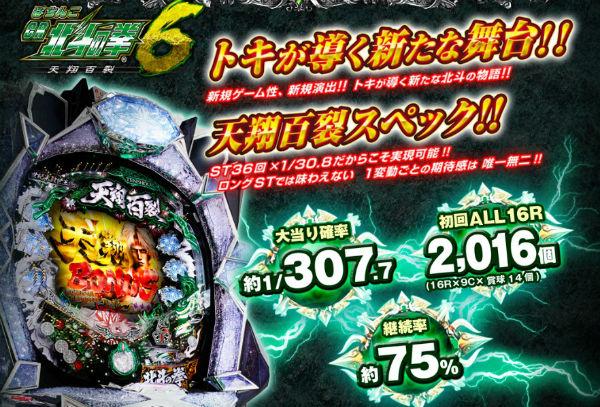 CR北斗の拳6天翔百裂 公式サイト