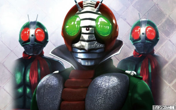 パチンコ仮面ライダーV3のスペック違い