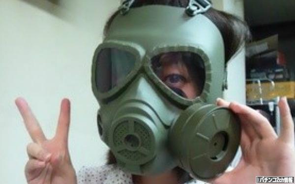 臭いからマスクしてるんだ