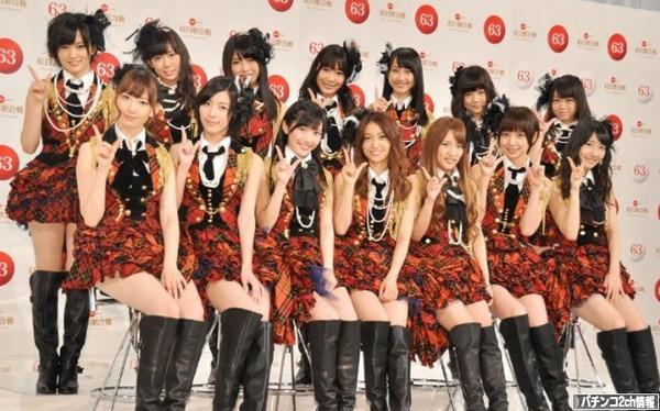 AKB48のチェック柄の衣装