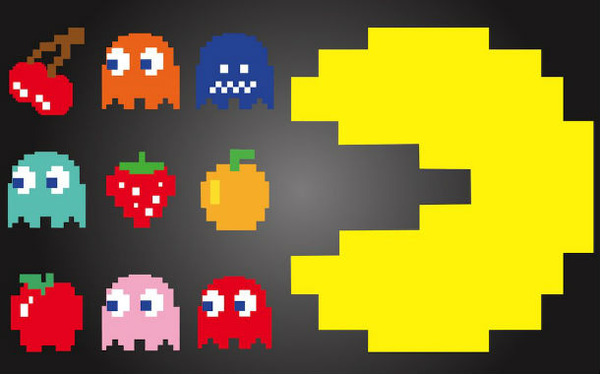 FreeVector-Pac-Man-Characters