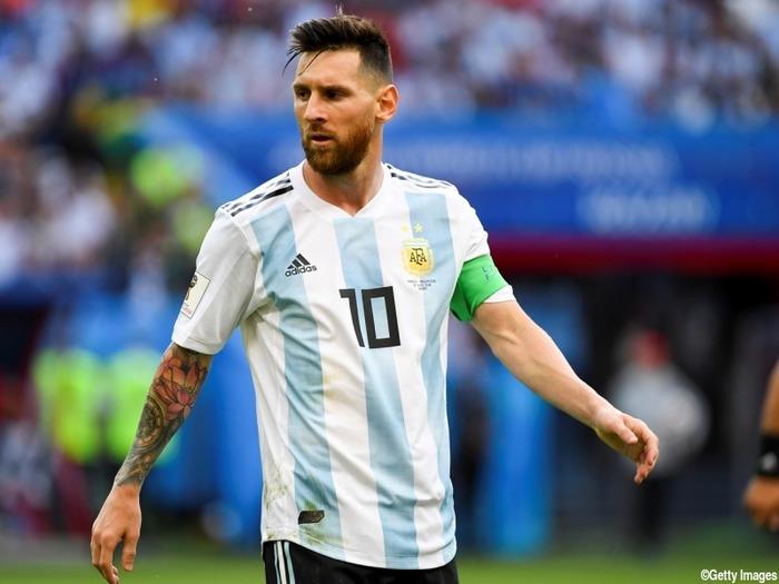 アルゼンチン代表メッシ