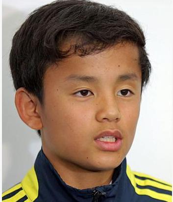 13歳日本代表の久保くんは東京下部U15むさしに加入!
