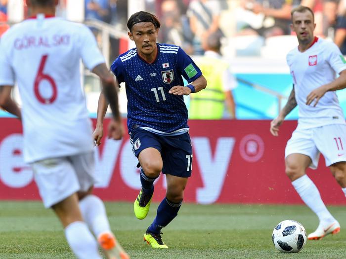 「日本代表のベンチでは『セネガルが1点取ったらどうすんねん』『(攻めに)行かなアカンやろ』という話もあった」by 宇佐美貴史