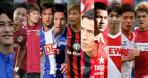 海外サッカー現役日本人の活躍ランクwww