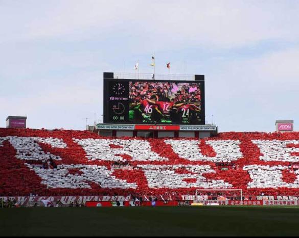 サッカークラブ平均観客数ランキング!1位はドルトムント!日本で唯一50位以内にランクインしたのは浦和!