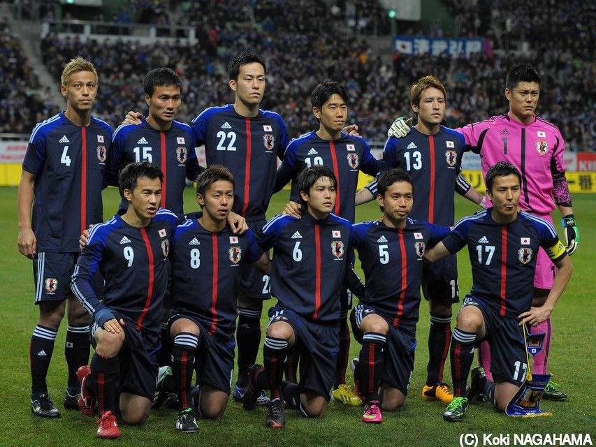 サッカーの日本代表 ...