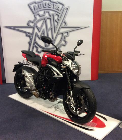 MVアグスタ 新型ブルターレ800 4月発売