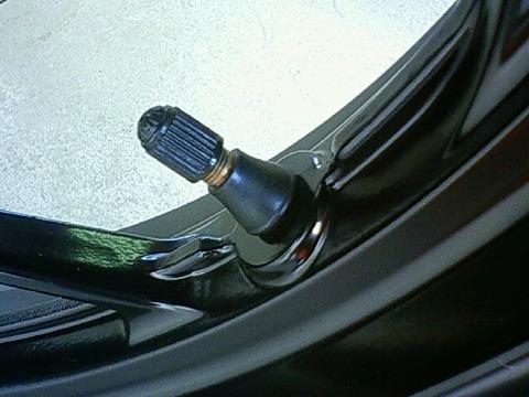 タイヤのエアバルブ