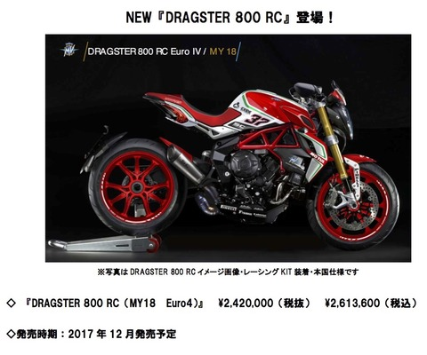 DRAGSTER 800 RC Relese