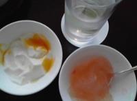 桃李のマンゴープリンとグレープフルーツジュレ