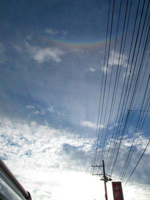 帯広の虹01