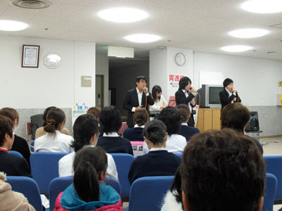 1112仙台の病院でのコンサート