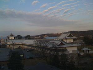 金沢城_城郭からの眺望