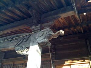 重蔵神社_社殿の彫り物