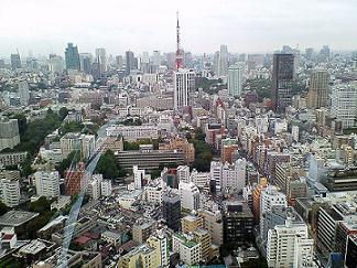 三田営業所からの眺望