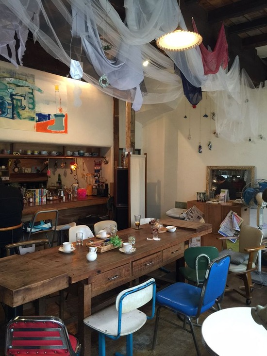 八広のカフェ