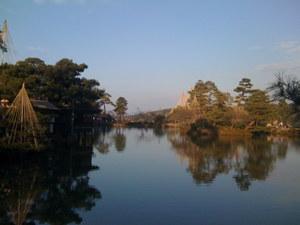 兼六園_美しい池