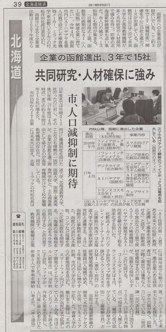 0427_日経新聞_函館市