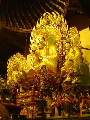 仏像@上海龍華寺