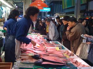 近江町市場_鰤