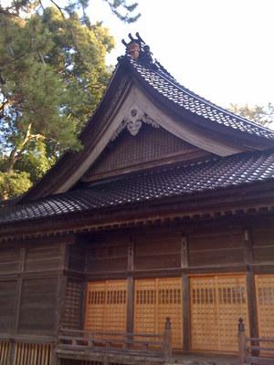 重蔵神社_社殿