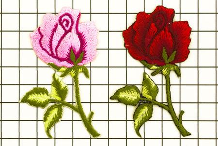 ワッペン 薔薇