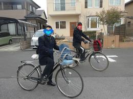 最後の自転車通学