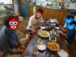 広島から来客