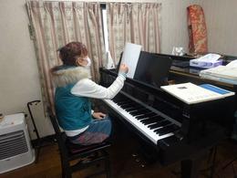 久々ピアノ