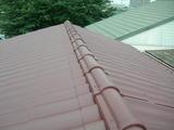 大屋根塗装後