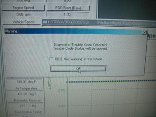 ハーレーのダイアグノーシスコードエラー