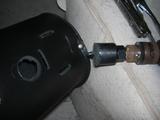 ハーレーダビッドソンのツールバッグ加工2