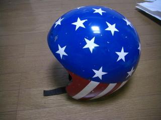 キャプテンアメリカレプリカヘルメット