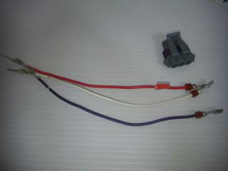 ハーレーダビッドソンのMAP計測用センサーハーネス
