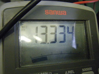 ハーレーのフォグライト点灯電圧