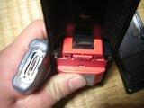 ハーレーダビッドソン用ココセコムと充電ユニット端子