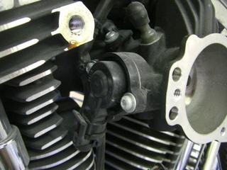 ハーレーダビッドソンのスロットルポジションセンサー