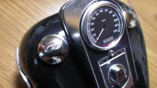 ハーレーダビッドソンの燃料計