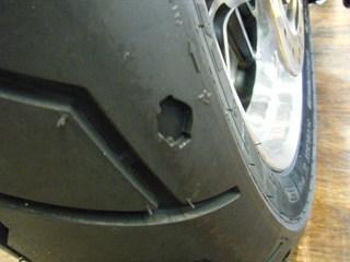 ハーレーのリヤタイヤパターン