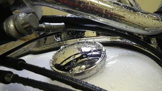 ハーレーのフロントブレーキバンジョーボルト