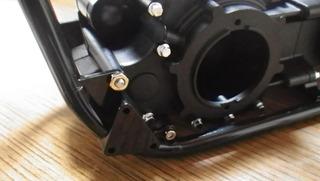 ハーレーソフテイルのエンジンマウント方法