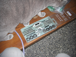 ハーレーダビッドソンのカスタム用タップアンドダイスセット
