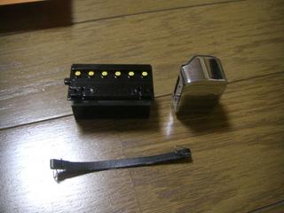 ハーレーダビッドソンのバッテリーとコイル
