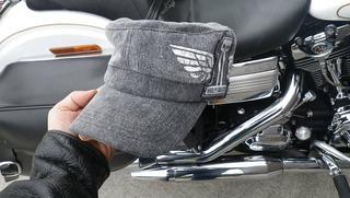 ハーレーの帽子