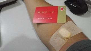 ハーレー乗りの献血カード